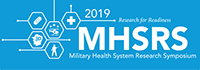 Military Health System Research Symposium logo